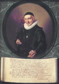 Portrait of Bernardus Paludanus