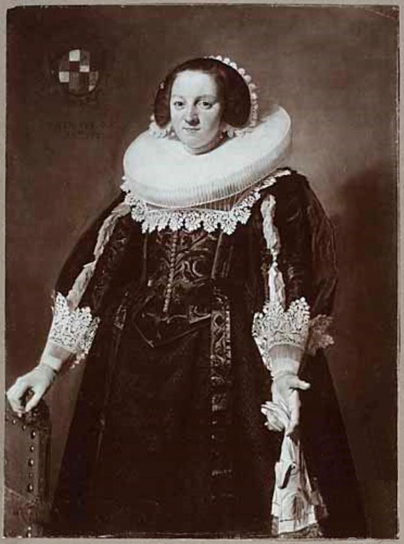 Portrait of Catharina Brugman