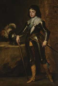 Portrait of Charles II as Prince of Wales