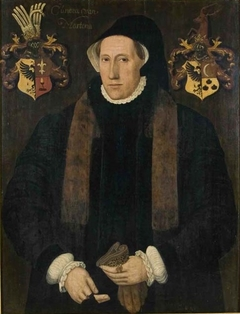 Portrait of Cunera van Martena