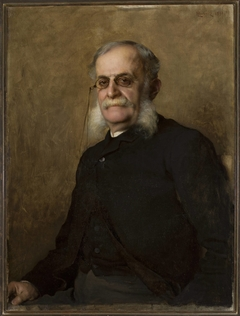 "Portrait of Edward Leo (1829–1901), editor of ""Gazeta Polska"""