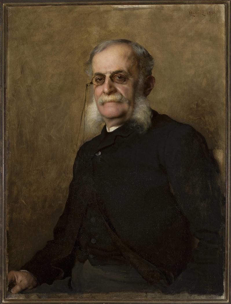 """Portrait of Edward Leo (1829–1901), editor of """"Gazeta Polska"""""""