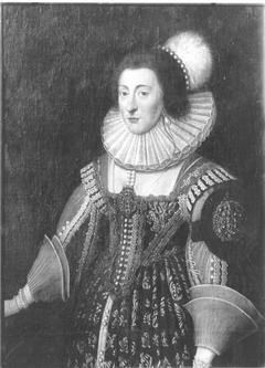 Portrait of Elisabeth Stuart, Electress of the Palatine (1596-1662)