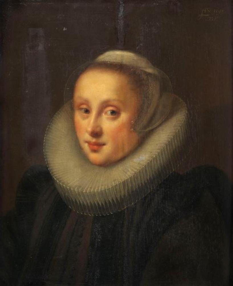 Portrait of Gertrud Cronenberg, second wife to Adriaen de Bruyn van Blanckenvort
