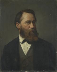 Portrait of Hans Fredrik Gude