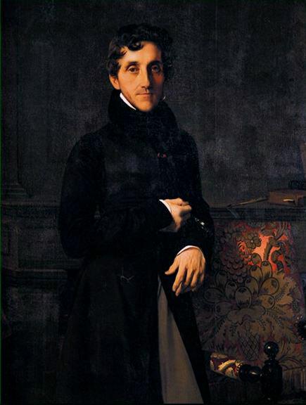 Portrait of Louis-Mathieu Molé