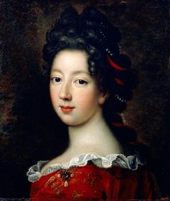 Portrait of Louise Françoise de Bourbon, mademoiselle de Nantes