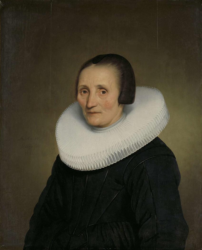 Portrait of Margaretha de Geer (1585-1672)