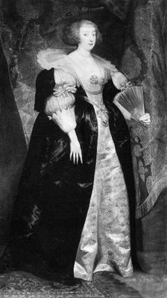 Portrait of Marguerite, princess of Lorraine (1615-1672), wife of Gaston d'Orléans