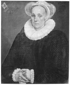 Portrait of Maria Claesdr Gaeff (1549-1633)