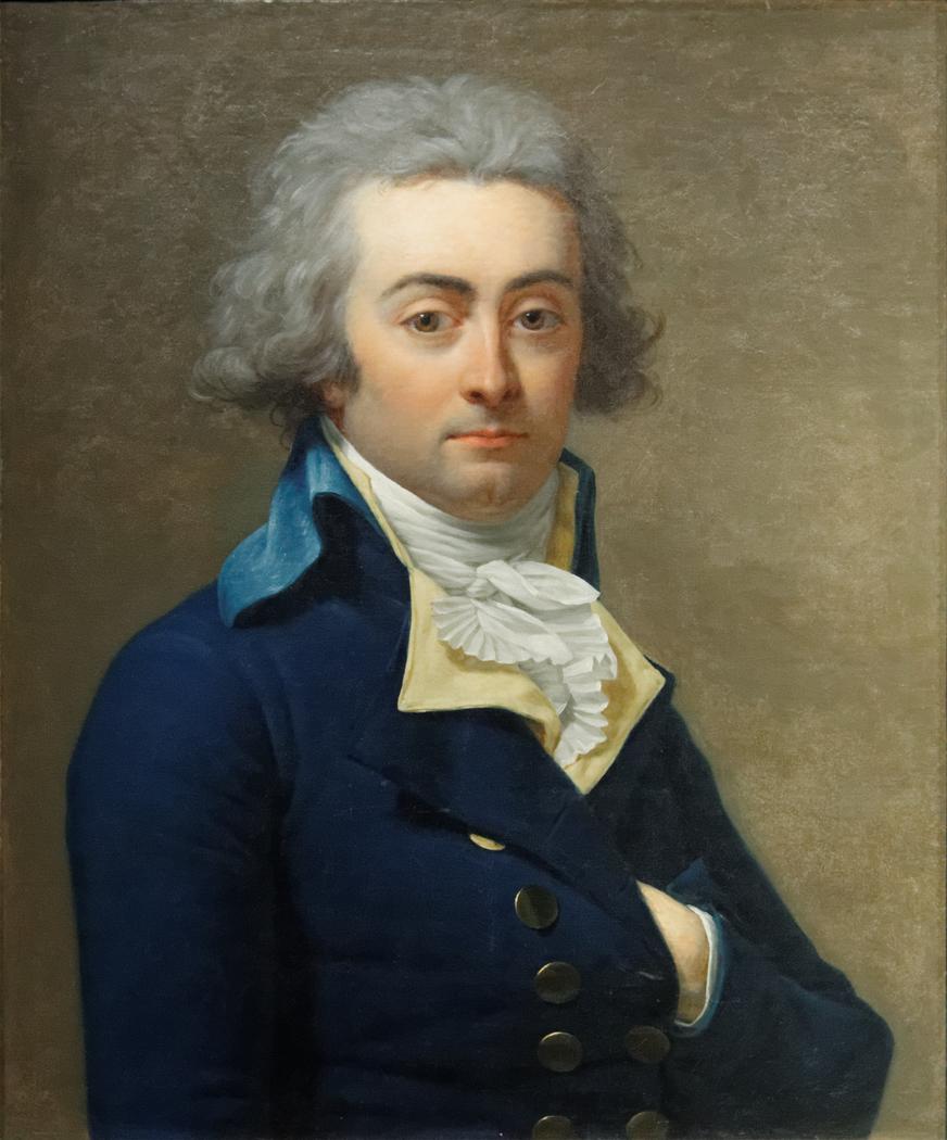 Portrait of Marie-Jean Hérault de Séchelles