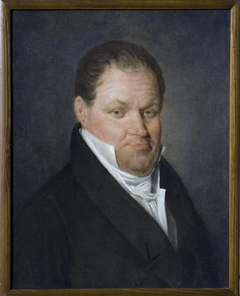 Portrait of N.Aubert, a French Teacher in Moscow