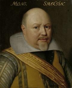 Portrait of Nicolaas Schmelzing