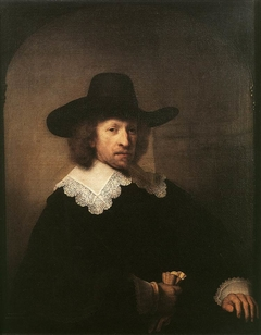 Portrait of Nicolas van Bambeeck in a Picture Frame