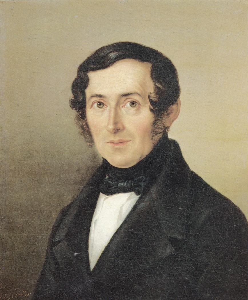 Portrait of Rector Gottlob Ehrenfried Dietrich