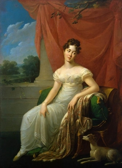 Portrait of Sofia Apraxina