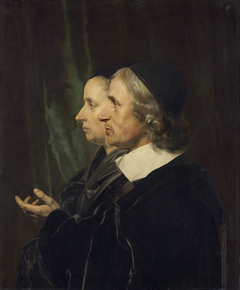 Portrait of the Artist's Parents, Salomon de Bray and Anna Westerbaen
