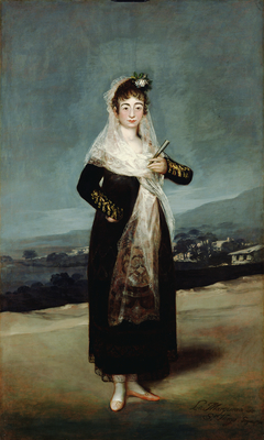 Portrait of the Marquesa de Santiago