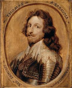 Portrait of Thomas de Savoie, prince de Carignan