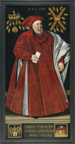Portrait of Viglius of Aytta (Viglius Zuichemus)
