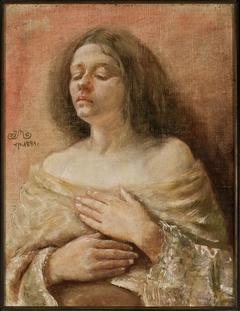 Portrait study of a woman