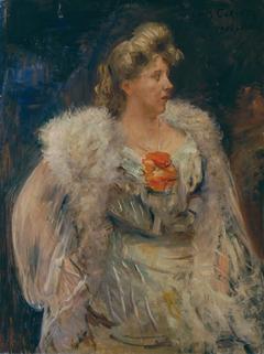 Porträt Fräulein Halbe