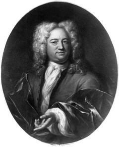 Portret van Johannes van Buuren (1648-1756?)