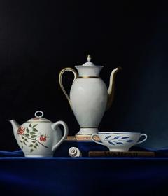 Pots, oil on canvas 70x80cm