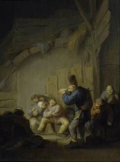 Reading a Jest in the Village Inn