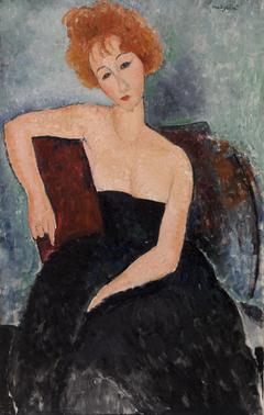 Redheaded Girl in Evening Dress (Jeune fille rousse en robe de soir)