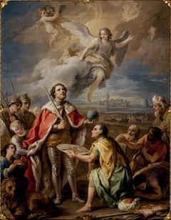 rédition de Séville au roi San Fernando.