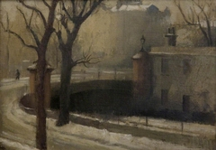 Regent's Canal at Maida Avenue, Winter