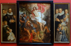Resurrection of Christ and the van der Aa family