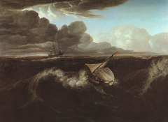 Rising of a Thunderstorm at Sea