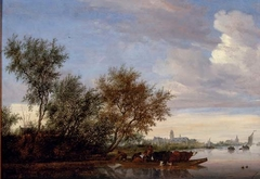Riverlandscape with Nijenrode Castle