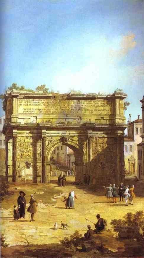 Rome: The Arch of Septimius Severus