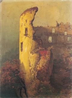 Ruins of Castle Tower in Ojców
