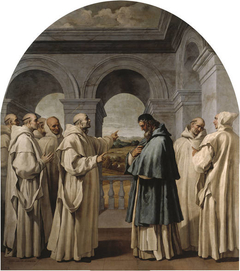 Saint Bruno Bids Farewell to Saint Hugo