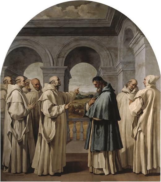 Saint Bruno Bids Farewell to Saint Hugo