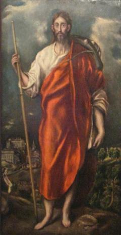 Saint James as a pilgrim