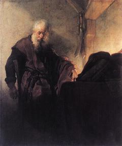 Saint Paul at his Writing Desk