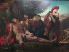 Saint Sébastien secouru par les Saintes Femmes - Delacroix