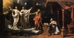 Saints Gervase and Protase Appearing to St Ambrose
