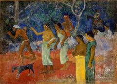 Scene from Tahitian Life