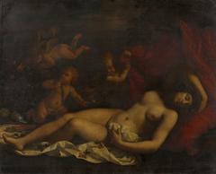 Sleeping Venus with Cupids