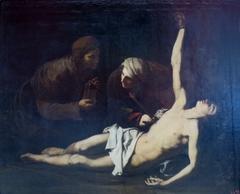 St Sebastian Cured by St Irene
