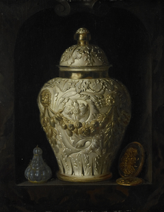 Still Life with a Covered Beaker