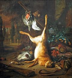 Still Life with Dead Rabbit and Birds