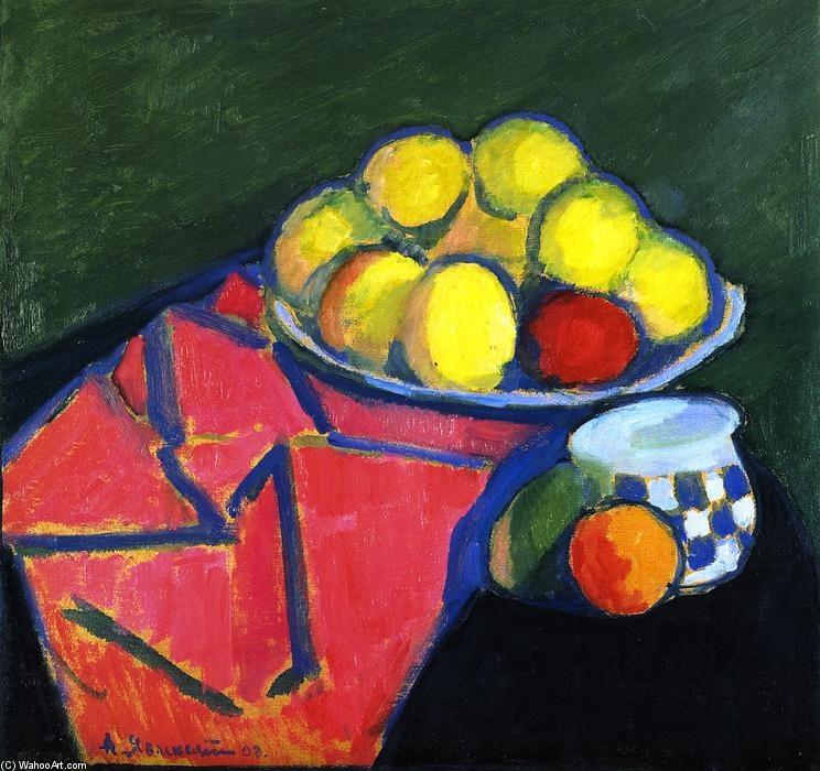 Stillleben mit Äpfeln (Jawlensky)