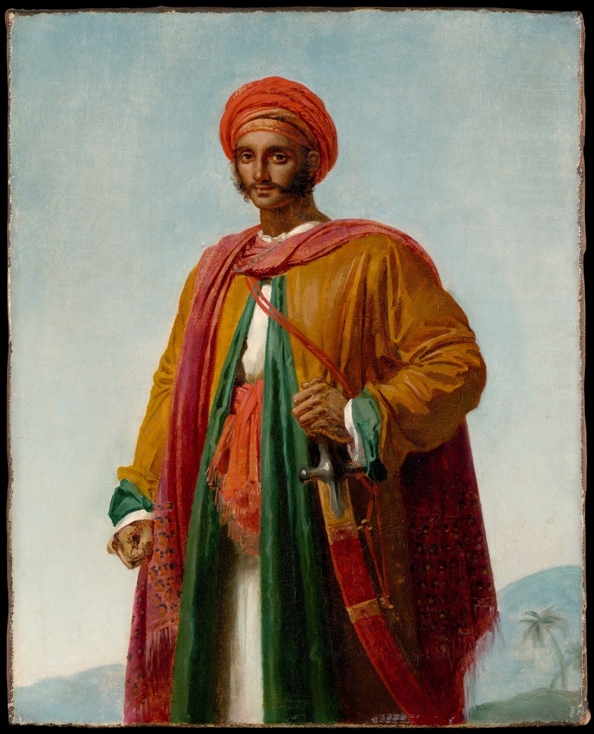 """Study for """"Portrait of an Indian"""""""